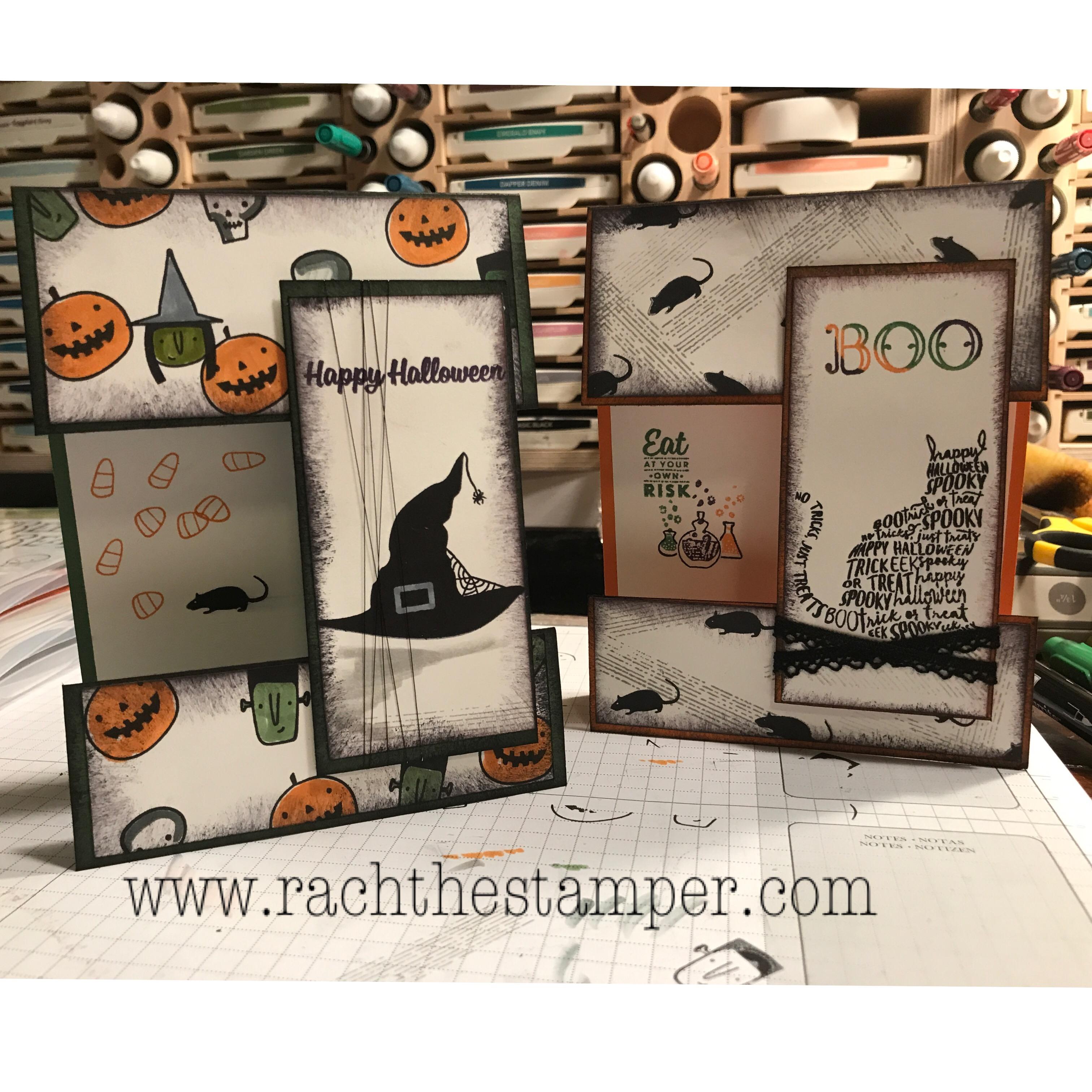 Stampin Up Halloween Card Ideas 2020 Peek Through Halloween card,Stampin' Up! • RachTheStamper